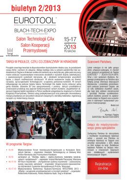 Biuletyn Targowy 02/2013