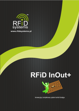 SYSTEM RFiD InOut+