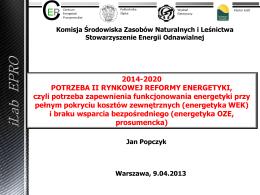 (2÷6) mld PLN - Stowarzyszenie Energii Odnawialnej