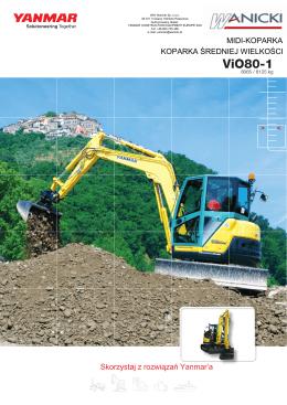ViO80-1 - Yanmar
