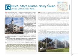 Gliwice. Stare Miasto. Nowy Świat.