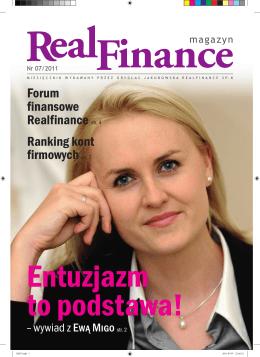Forum finansowe Realfinance str. 4 Ranking kont