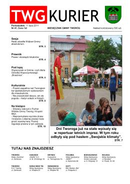 Nr 41 (11 lipca 2011)