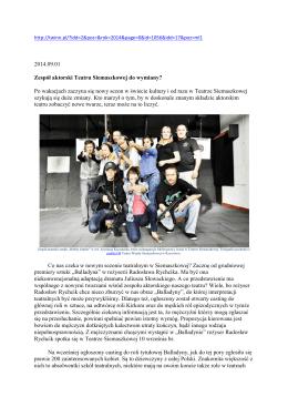 Zespół aktorski Teatru Siemaszkowej do wymiany.docx