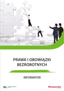Prawa i obowiązki bezrobotnych. Informator