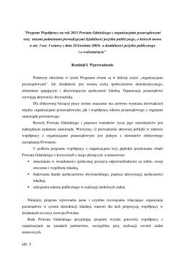 Program Współpracy na rok 2013 (plik pdf)