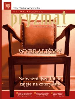 nr 255 05.2012 - Pryzmat - Politechnika Wrocławska