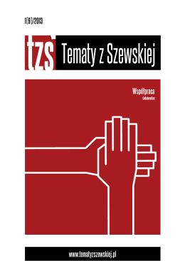 Nr 1(9)/2013 - Tematy z Szewskiej