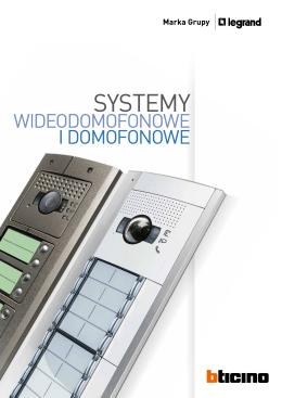 Systemy domofonowe i wideodomofonowe - Bticino