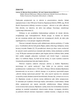 Zdrowie - Baza programów zdrowotnych województwa pomorskiego