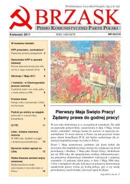 2011/04 - Komunistyczna Partia Polski