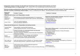 POL 10-5: Teilnehmerliste - MLUL