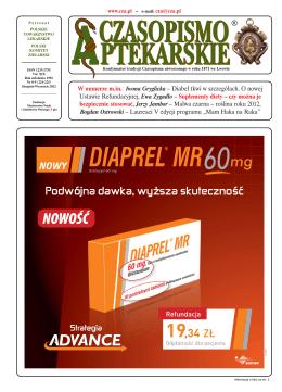 nr 8-9/2012 - Czasopismo Aptekarskie