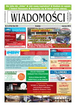 2014 marzec - wiadomosci.krakow.pl