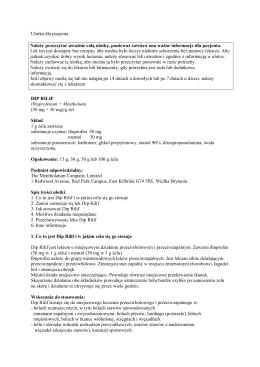 Oznakowanie opakowania bezpośredniego – tuba 30 ml