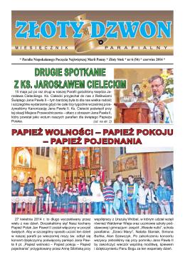 DRUGIE SPOTKANIE z ks. Jarosławem CieleCkim