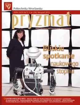 nr 258 11.2012 - Pryzmat - Politechnika Wrocławska