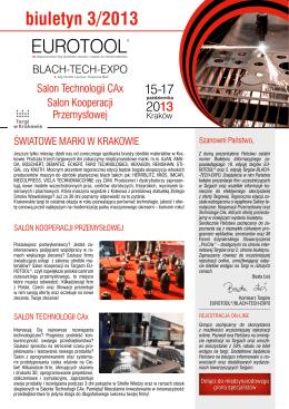Biuletyn Targowy 03/2013