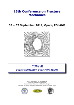 13CFM_Preliminary Programme - CESTI