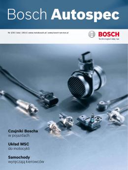 Czujniki Boscha w pojazdach Układ MSC do