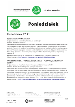[PDF]: Ściągnij i wydrukuj: Info Punkt 17-23