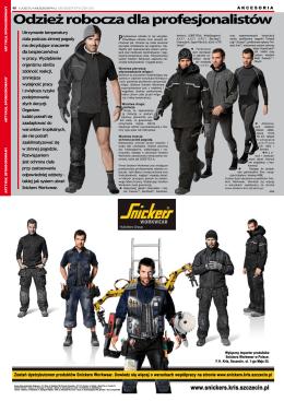 Odzież robocza dla profesjonalistów - SNICKERS Workwear