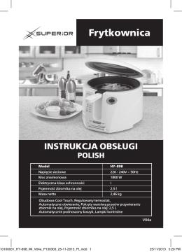 Frytkownica - Superior