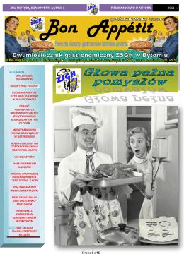 Wydanie siódme dwumiesięcznika - Zespół Szkół Gastronomiczno