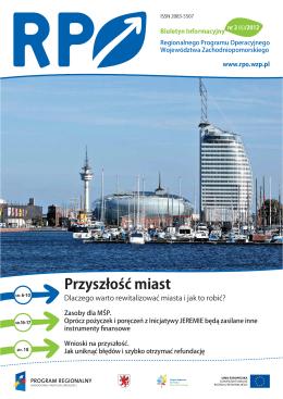 Przyszło㶄㶛 miast - RPO - Urząd Marszałkowski Województwa