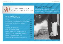 Newsletter SCP Nr 6 - Stowarzyszenie Compillance Polska