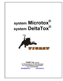 lista produktów microtox