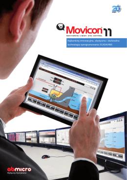 Oprogramowanie HMI/SCADA MOVICON 11 firmy Progea - AB