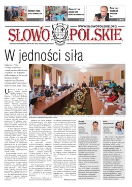 Slowo n23.indd - Słowo Polskie