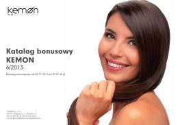 Katalog bonusowy KEMON