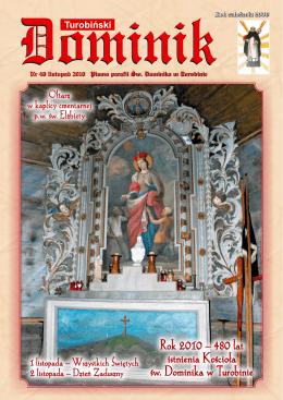 listopad - Parafia Rzymskokatolicka pw Św. Dominika w Turobinie