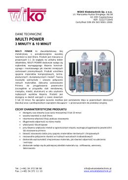 MULTI POWER 3 & 10_MINUT_WIKO_TDS