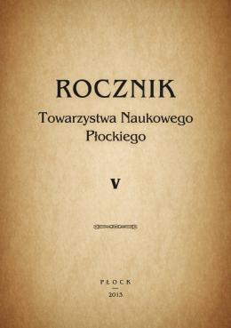 Rocznik TNP 2013 - Towarzystwo Naukowe Płockie