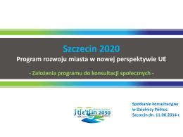 Szczecin 2020 - Dzielnica Północ