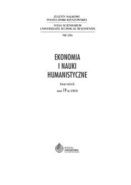 Pełna wersja - Oficyna Wydawnicza Politechniki Rzeszowskiej