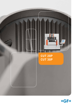 CUT 20P CUT 30P - GF Machining Solutions