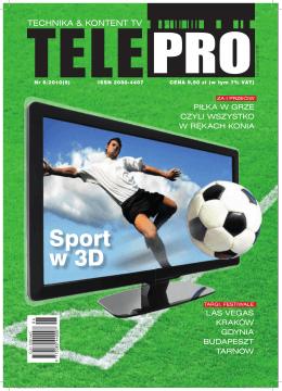 Sport w 3D - Powrót do strony głównej