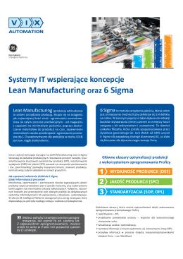 Systemy IT wspierające koncepcję Lean