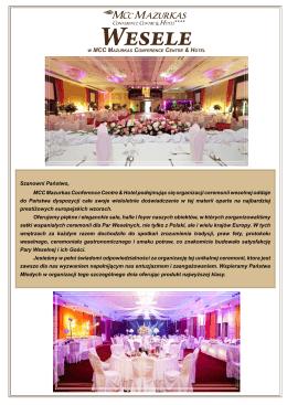 sprawdź szczegóły promocyjnej oferty weselnej