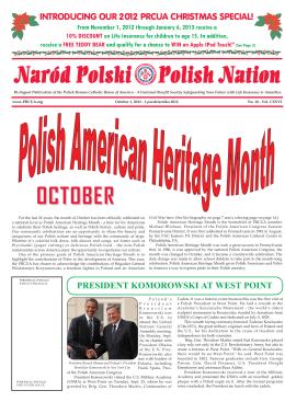 Naród Polski Polish Nation OCTOBER