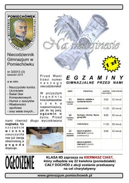 3 - Gimnazjum w Pomiechówku