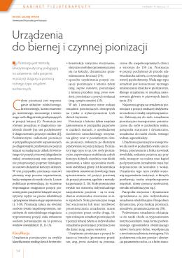 Pobierz artykuł - Rehabilitacja w praktyce