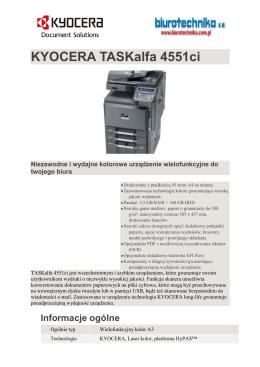 KYOCERA TASKalfa 4551ci