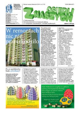 nr 2 (13) marzec / kwiecień 2014
