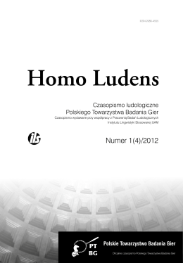 Homo Ludens 1(4)/2012