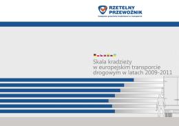 Raport o kradzieżach w transporcie